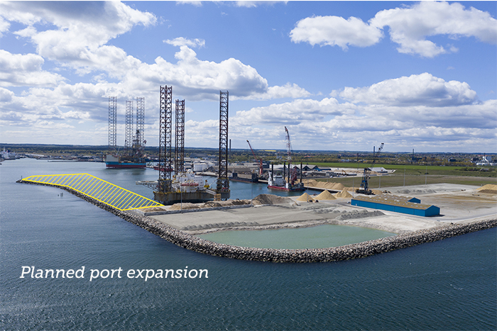 Grenaa port expansion
